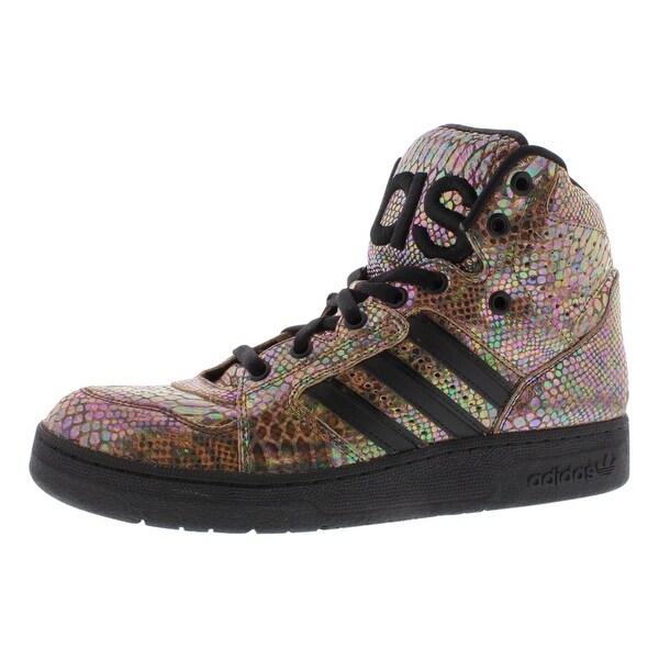 Adidas Jeremy Scott Instinct Hi Rainbow Men's Shoes - 8.5 d(m) us