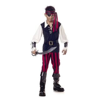 California Costumes Cutthroat Pirate Child Costume - Black/Red|https://ak1.ostkcdn.com/images/products/is/images/direct/2aab0eaf9fccba30989e1f07094768164f69e59e/California-Costumes-Cutthroat-Pirate-Child-Costume.jpg?impolicy=medium