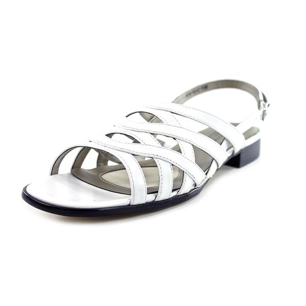 Mark Lemp By Walking Cradles Calypso Women White Sandals