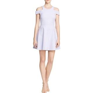 Elizabeth and James Womens Avin Party Dress Open Shoulder U-Neck - 6