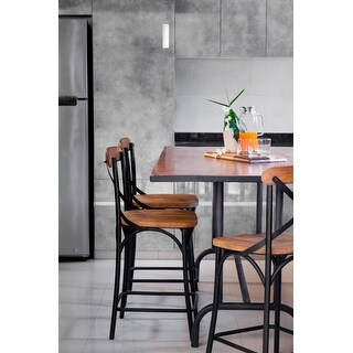 Link to Zach Bar and Counter Chair Similar Items in Dining Room & Bar Furniture