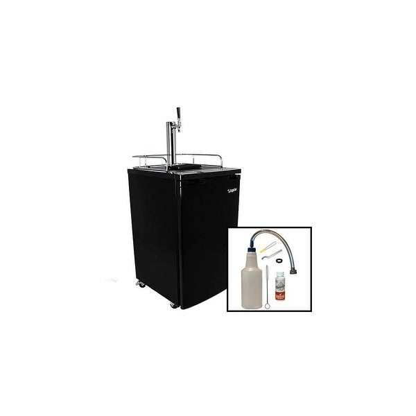 Shop Edgestar Kc2000clean 20in Wide Kegerator And Keg Beer