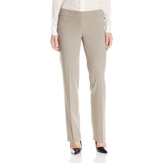 Nine West NEW Beige Womens Size 8 Stretch Crepe Trouser Dress Pant