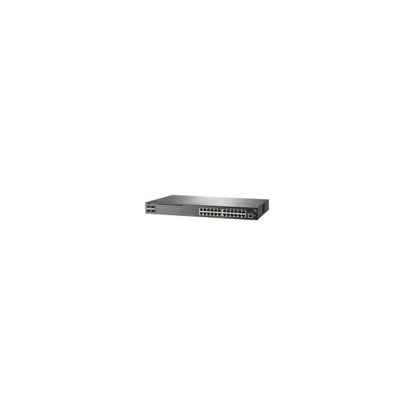 HP JL261A-ABA Aruba 2930F 24G PoE plus 4SFP Switch