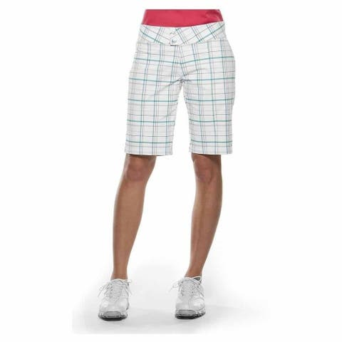 Oakley Womens Palm Plaid Athletic Pants & Shorts