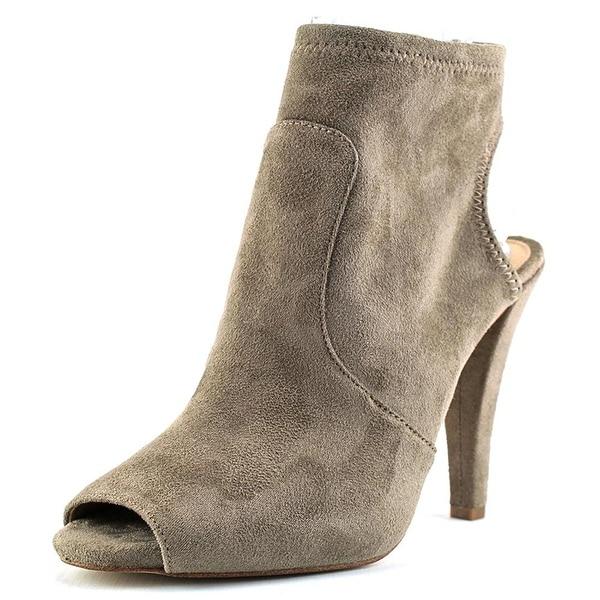 MICHAEL Michael Kors Womens Selina Suede Peep Toe Ankle Fashion Boots Fashion...