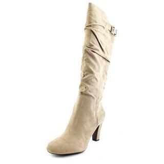 Jessica Simpson Finnegan Women Round Toe Synthetic Tan Knee High Boot