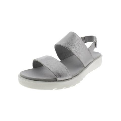 dd460741401c ECCO Womens Freja Slingback Sandals Leather Open Toe