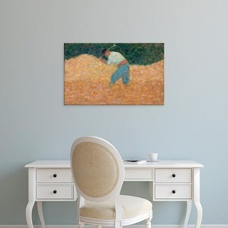 Easy Art Prints National Gallery of Art's 'The Stone Breaker' Premium Canvas Art