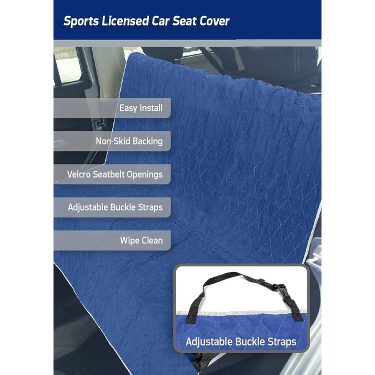 Astounding Pets First Nfl Dallas Cowboys Pet Car Seat Cover Alphanode Cool Chair Designs And Ideas Alphanodeonline