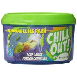 Fit & Fresh Kids' Smart Portion Chilled Container with Removable Ice Pack