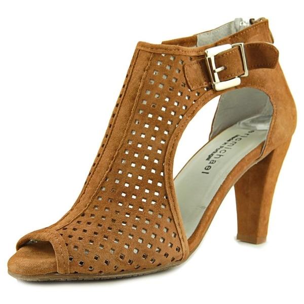 Eric Michael Chrystal Shootie Women Tan Sandals