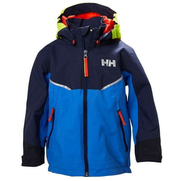 301cfc97 Shop Helly Hansen Kids Unisex K Shelter Jacket - Blue Water, 128/8 - Free  Shipping Today - Overstock - 21291105