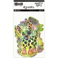 Colored Animals - Dyan Reaveley's Dylusions Creative Dyary Die Cuts
