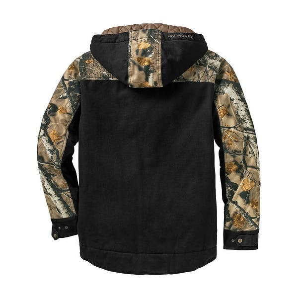 9e75e33f40ee6 Shop Legendary Whitetails Canvas Cross Trail Realtree Camo Workwear ...