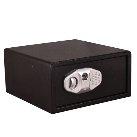 Gymax Biometric Fingerprint Digital Electronic Safe Box Keypad Lock