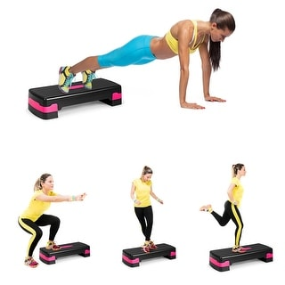 Link to Exercise Stepper Height Adjustable Aerobic Step Platform Similar Items in Fitness & Exercise Equipment