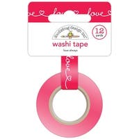 Doodlebug Washi Tape 15Mmx12yd-Love Always