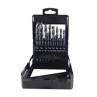 Disston 3237 Blu-Mol Black Oxide Drill Bit Set, 21 Pieces