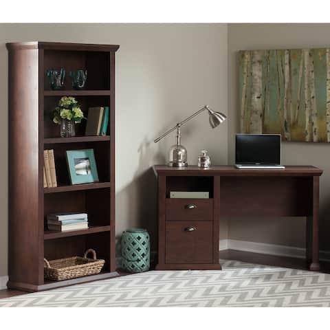 Copper Grove Senaki Home Office Desk, Bookcase