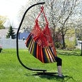 Sunnydaze Jumbo Hanging Chair Hammock Swing - Thumbnail 11