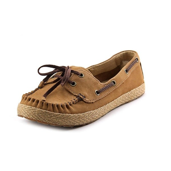 Ugg Australia Tylin Women Moc Toe Leather Boat Shoe