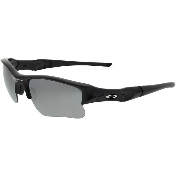 699444b486 Oakley Men s Flak Jacket XLJ 03-915 Black Wrap Sunglasses - Free ...