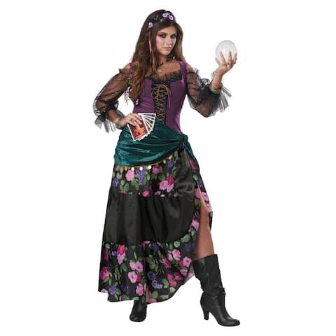 Womens Mystical Charmer Bohemian Gypsy Costume