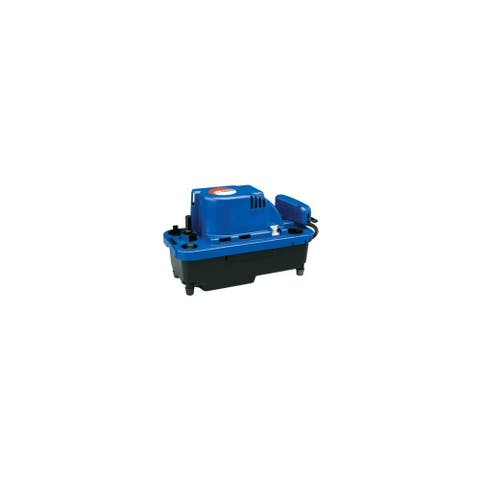 Little Giant 554530 VCMX 84 GPH 115V Automatic Condensate Removal Pump with 20' Cord and Safety Switch -