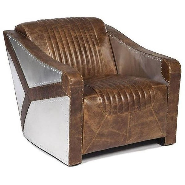 Wh C1617 9021 Kryptonite Cocoa Brompton Leather Chair Brown Free Shipping Today 26600315