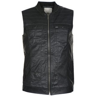 Calvin Klein Jeans Coated Cotton Full Zip Vest Black Medium M|https://ak1.ostkcdn.com/images/products/is/images/direct/2abefdee036bdc1aecd3233b36650b7ec564a2ae/Calvin-Klein-Jeans-Coated-Cotton-Full-Zip-Vest-Black-Medium-M.jpg?_ostk_perf_=percv&impolicy=medium