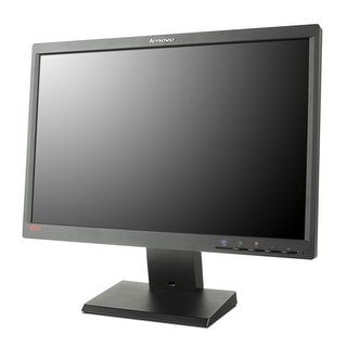 "Lenovo LT1952P 19"" Widescreen LED Backlight LCD Monitor VGA DVI Display Port"