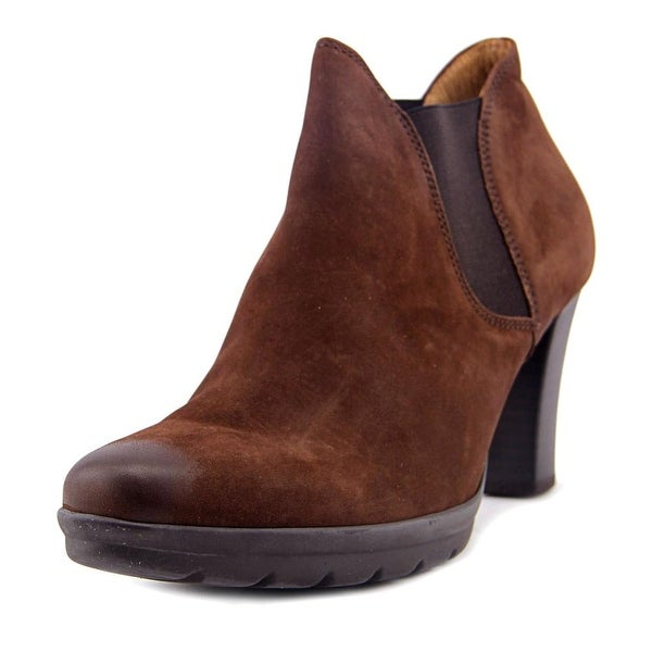 Gabor 75.341 Women Round Toe Leather Brown Bootie