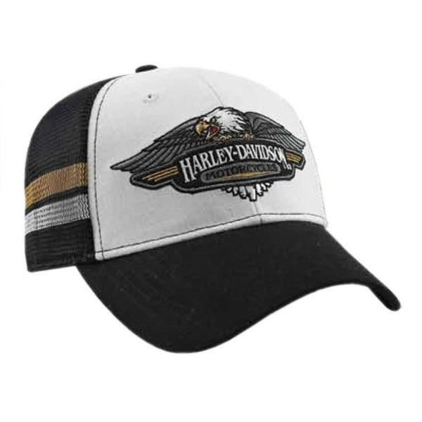 cf0f6901cc1 Shop Harley-Davidson Mens Embroidered Vintage Logo Baseball Cap ...