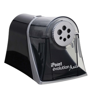 Link to Westcott iPoint Evolution Axis Electric Heavy Duty Multi Pencil Sharpener, Black/Silver Similar Items in Pencil Sharpeners