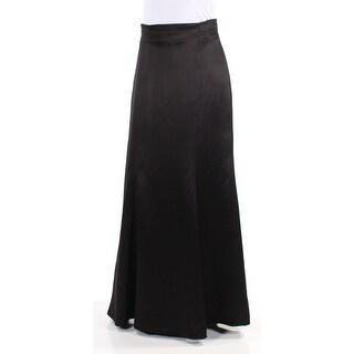Womens Black Evening Skirt Size 2