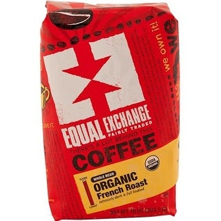 Equal Exchange - Whole Bean French Roast Coffee ( 6 - 10 OZ)