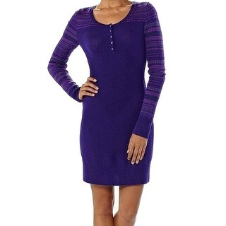 Patagonia NEW Purple Women's Size Large L Sweater Dress Wool