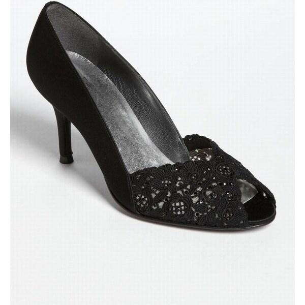 Stuart Weitzman Black Women's Shoes Size 5N Chantelle Pump