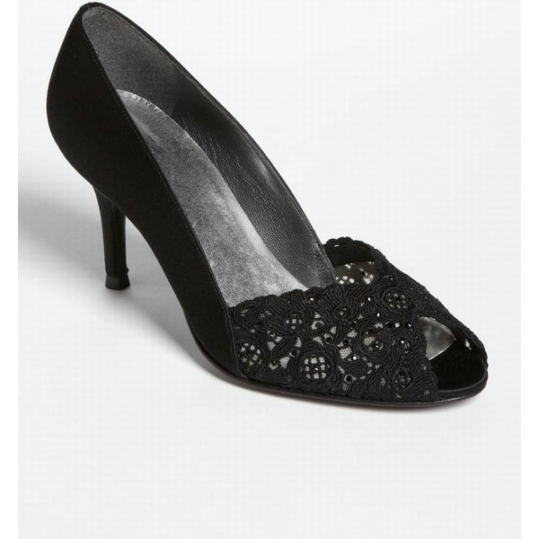 Stuart Weitzman NEW Black Women's Shoes Size 9N Chantelle Pump