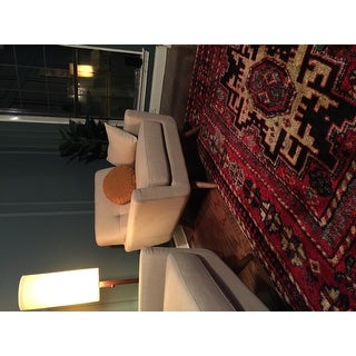 Safavieh Vintage Hamadan Traditional Red/ Multicolored Distressed Rug (8' x 10')