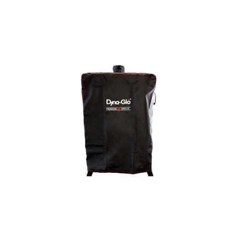 """Dyna-Glo DG1235GSC 31"""" Wide Vertical Smoker Cover for use with DGW1235BDP-D - Black"""