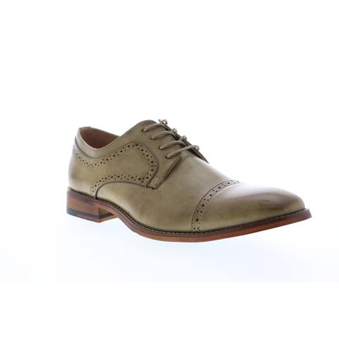 Unlisted by Kenneth Cole Cheer Lace Up Tan Mens Oxfords Casual