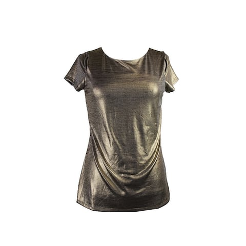 3db10edc7006a4 Gold Tops | Find Great Women's Clothing Deals Shopping at Overstock