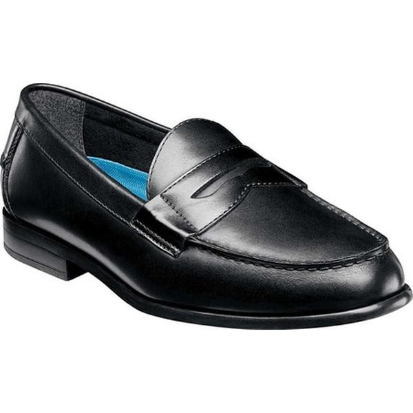 a8f96a0f5fa Shop Nunn Bush Men s Drexel Penny Loafer Black Leather - Free Shipping  Today - Overstock - 20197823