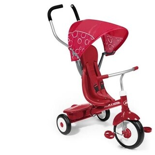 Radio Flyer 811 4-in-1 Ultimate Grow-With-Me Trike - Red