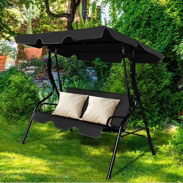 Seats Patio Canopy Swing Glider Hammock