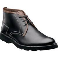 Florsheim Men's Casey Chukka Boot Black Leather