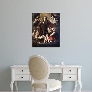 Easy Art Prints Pietro Novelli's 'Saint Rosalia of Palermo' Premium Canvas Art