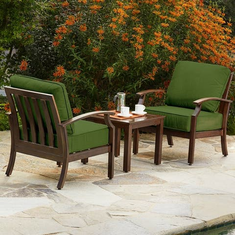 Patio Chat Set - 3 Piece Patio Seating Set - Waterfront Collection